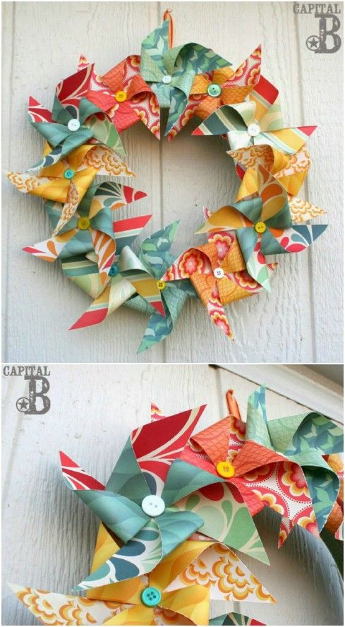 25 Gorgeous DIY Summer Wreaths You Can Make With Dollar