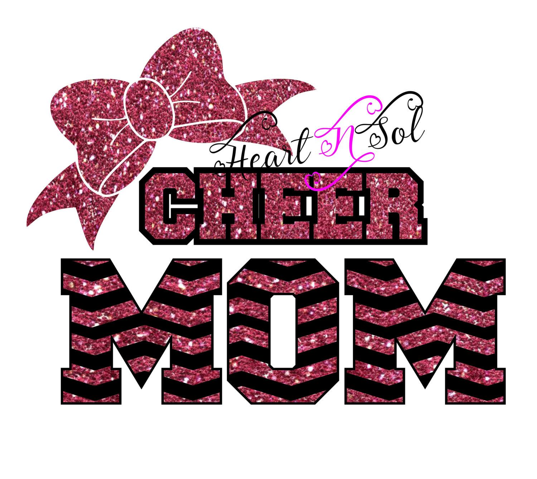 Cheer, Cheer Mom, Cheer bow, SVG, EPS, DXF, Cut File ...