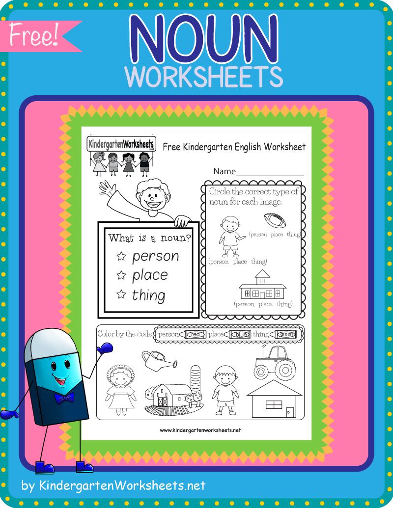 Kindergarten Noun Worksheets English Worksheets For Kindergarten Nouns Worksheet Kindergarten English [ 1035 x 800 Pixel ]
