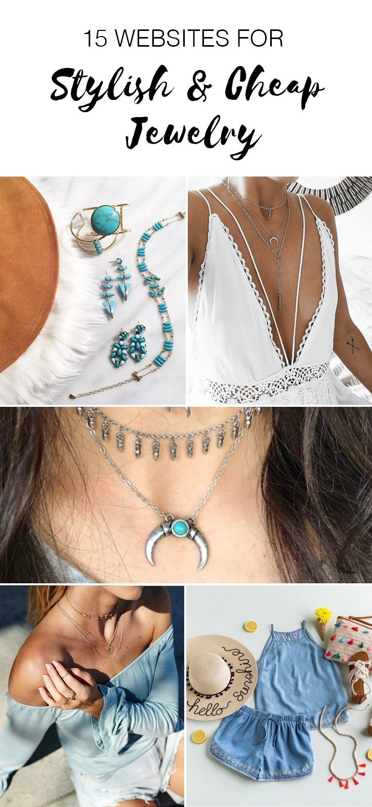 15 Websites For Stylish and Cheap Jewelry Cheap jewelry