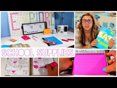 Back to School 2014: Organization and Study Tips! - YouTube