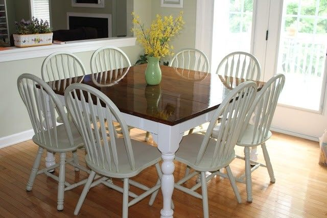 8 Seat Square Dining Table - Foter | table | Square dining ...