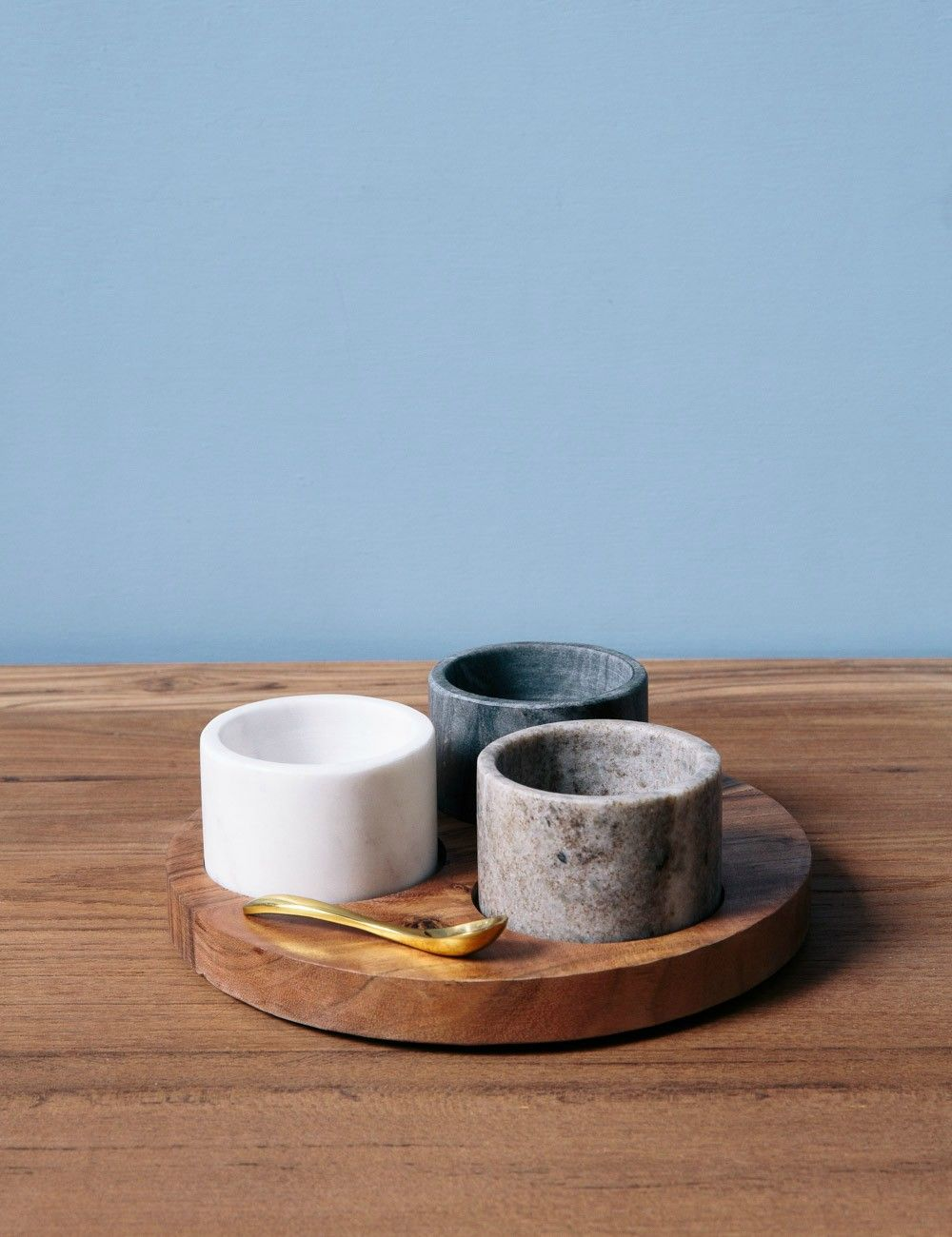 Wooden Condiment Server at Rose & Grey | DRAWING SHAPES AND EDGES ...