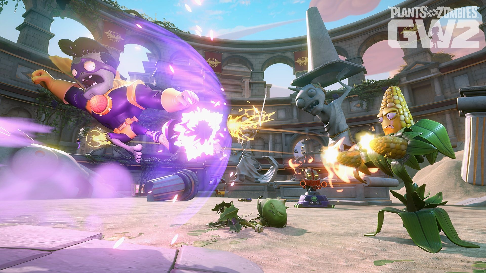 Jeux Video Plants Vs Zombies Garden Warfare 2 Annonce Et Trailer