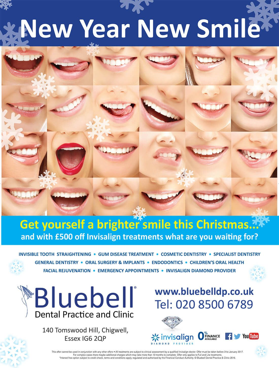 Get yourself brighter smile this christmas with 500 off on all get yourself brighter smile this christmas with 500 off on all invisalign treatments bluebell dental practice offers invisalign tooth straighteni solutioingenieria Image collections