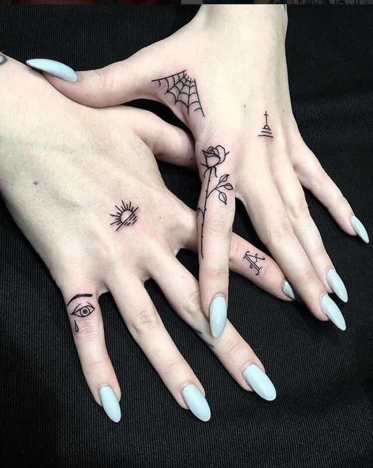 Tatuajes En Los Dedos Para Chicas Que Te Encantaran Tatuajes