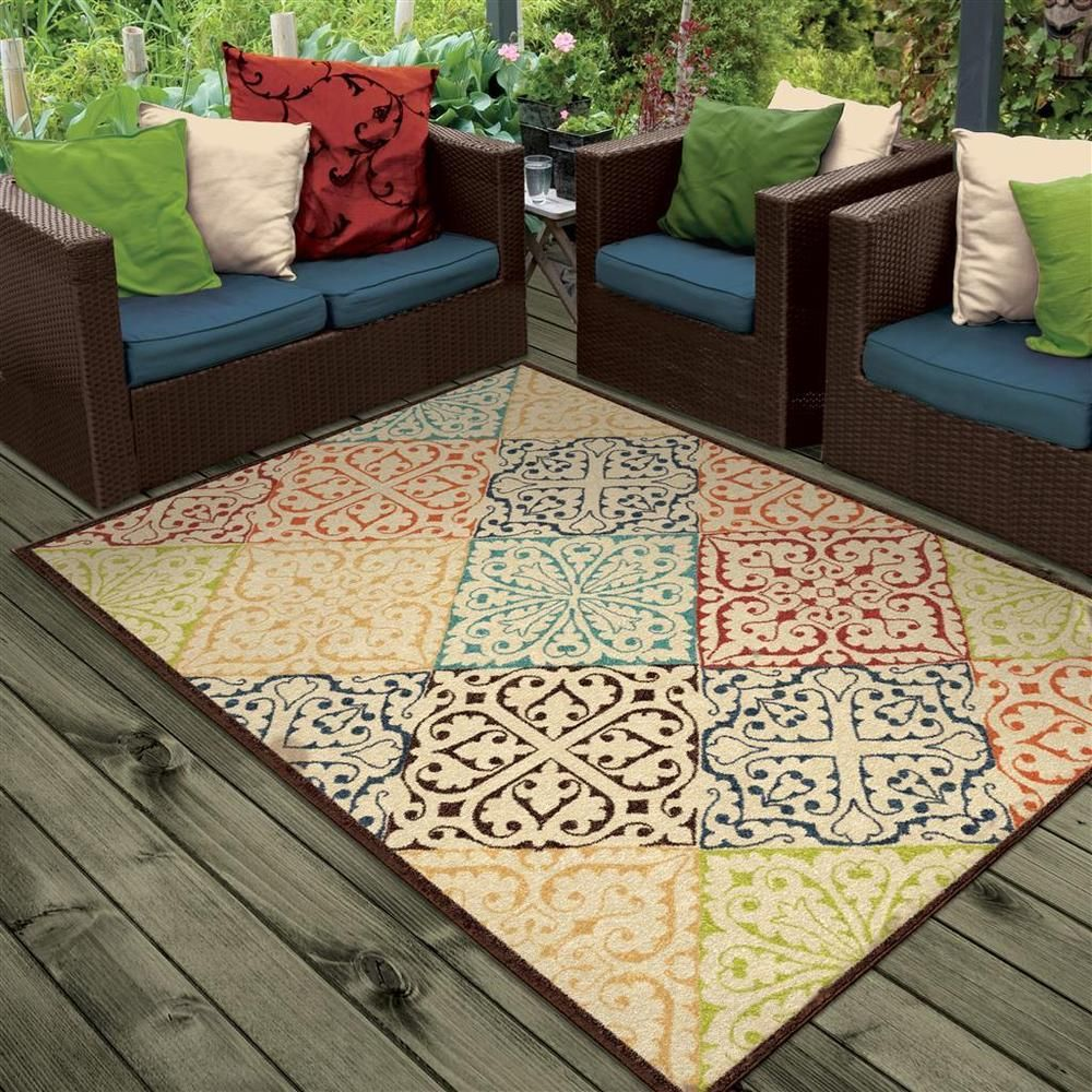 RUGS AREA RUGS OUTDOOR RUGS INDOOR OUTDOOR RUGS OUTDOOR CARPET RUG SALE ~  NEW ~ #