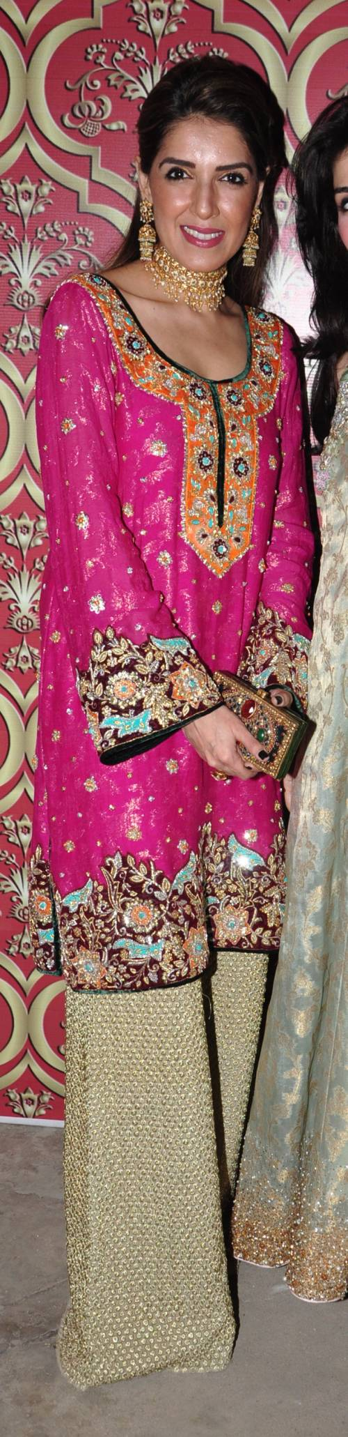 Best dresses to wear to a march wedding  Maheen Karim Khan THIS WEEKS BEST DRESSED th March  MONSOON