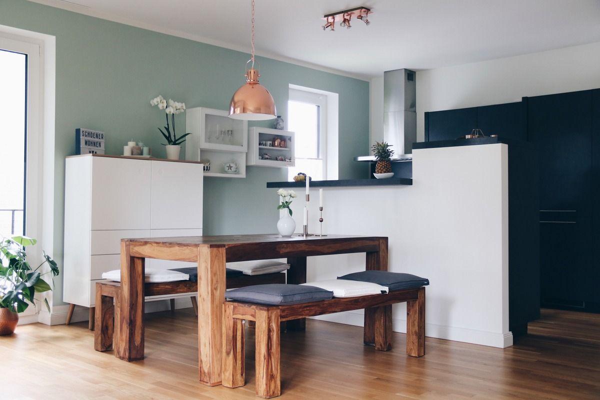 Mintgrüne Wand - Architects\' Finest & Schöner Wohnen | MRS ...