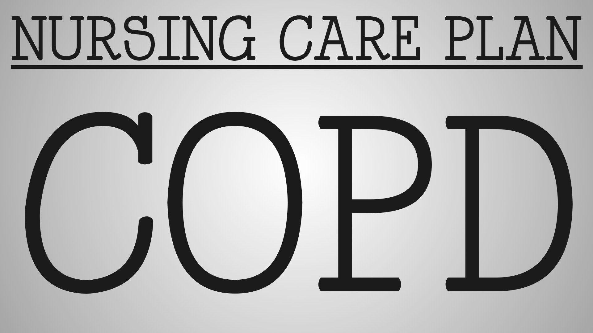 Nursing Care Plan   COPD   Nursing: Care Plans & Concept ...