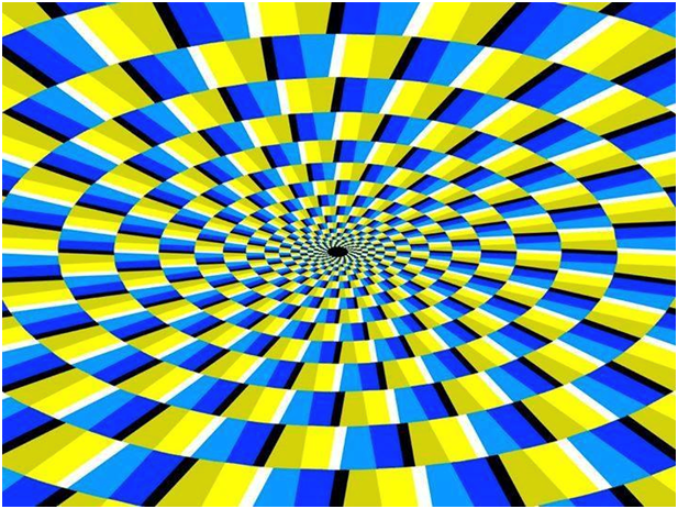 Do You Think Its Actually Moving Or Its Just An Illusion Optical Illusions Art Optical Illusion Wallpaper Cool Optical Illusions