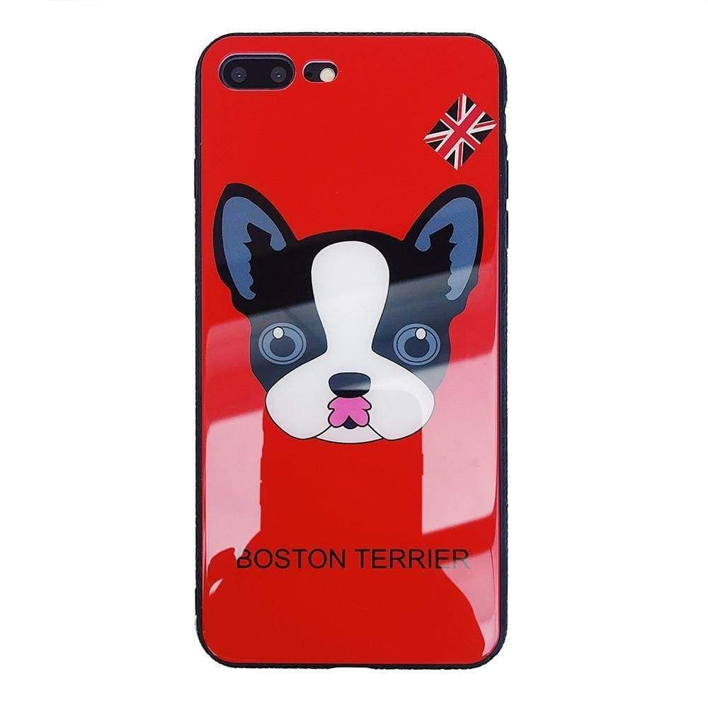 Boston Terrier Watercolor Hard Cover For Iphone 5 5s Se 6 6s Plus 7 7plus 8 8plus Bulldog Phone Case For Iphone X Phone Pouch Phone Bags & Cases