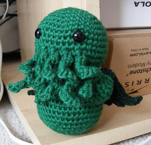 Ravelry: Project Gallery for Tiny Cthulhu! pattern by Amber of ...