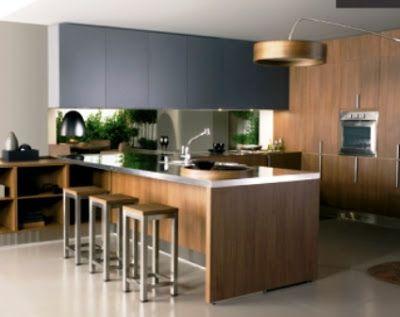 cocina con isla barra - Buscar con Google cocinas isla Pinterest - cocinas con isla