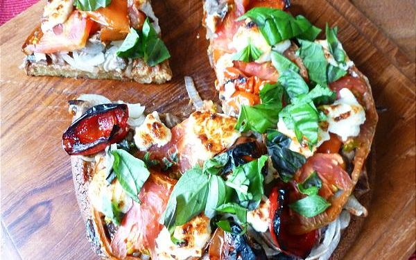 Corteza de pizza de quinua [Vegan, Gluten-Free]