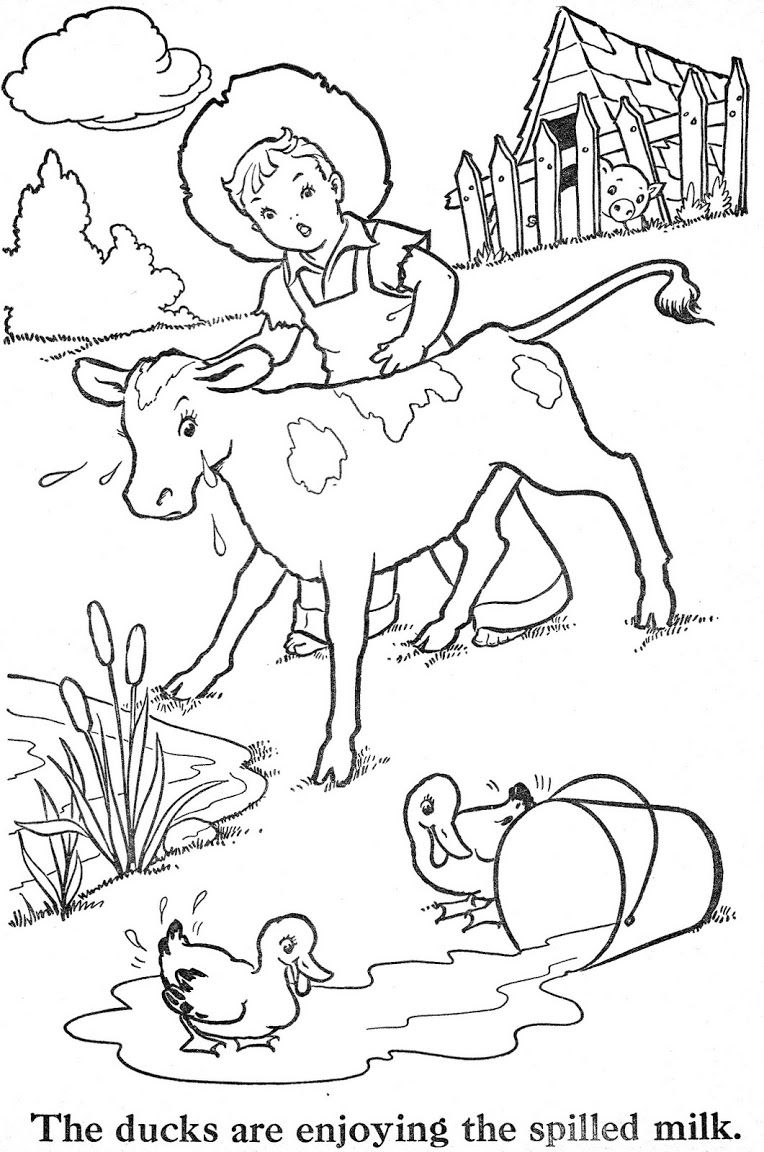 Coloring Book Blue Ribbon Coloring Books Vintage Coloring Books Animal Coloring Pages