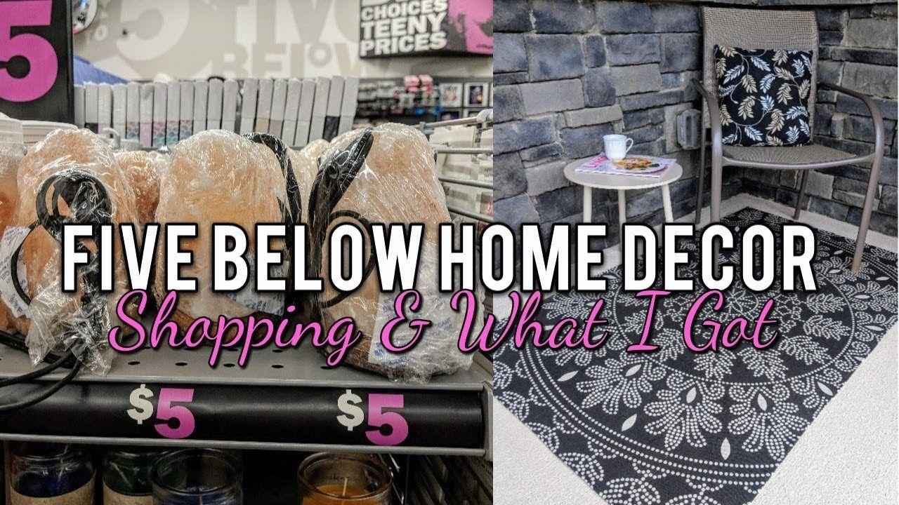 👉🏻 VIDEO 👈🏻 Five Below Home Decor Shopping & Haul! Cute ...