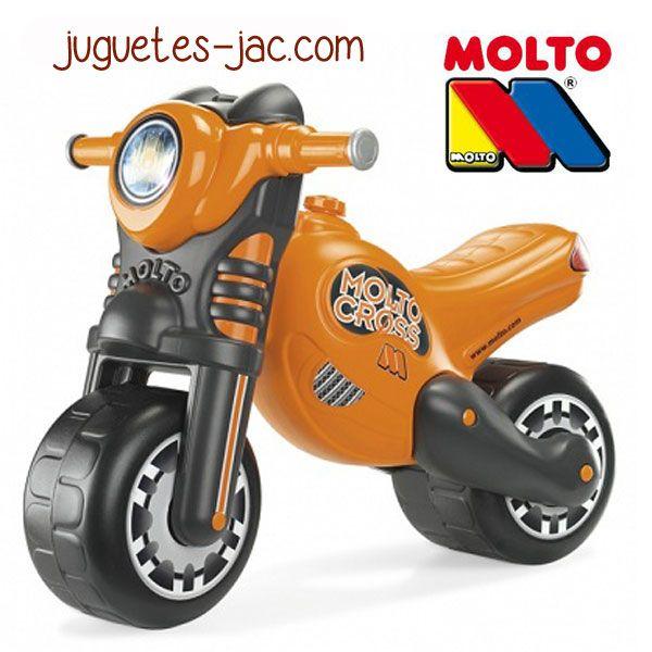 Moto Cross Naranja de Molto a partir de 3 años.