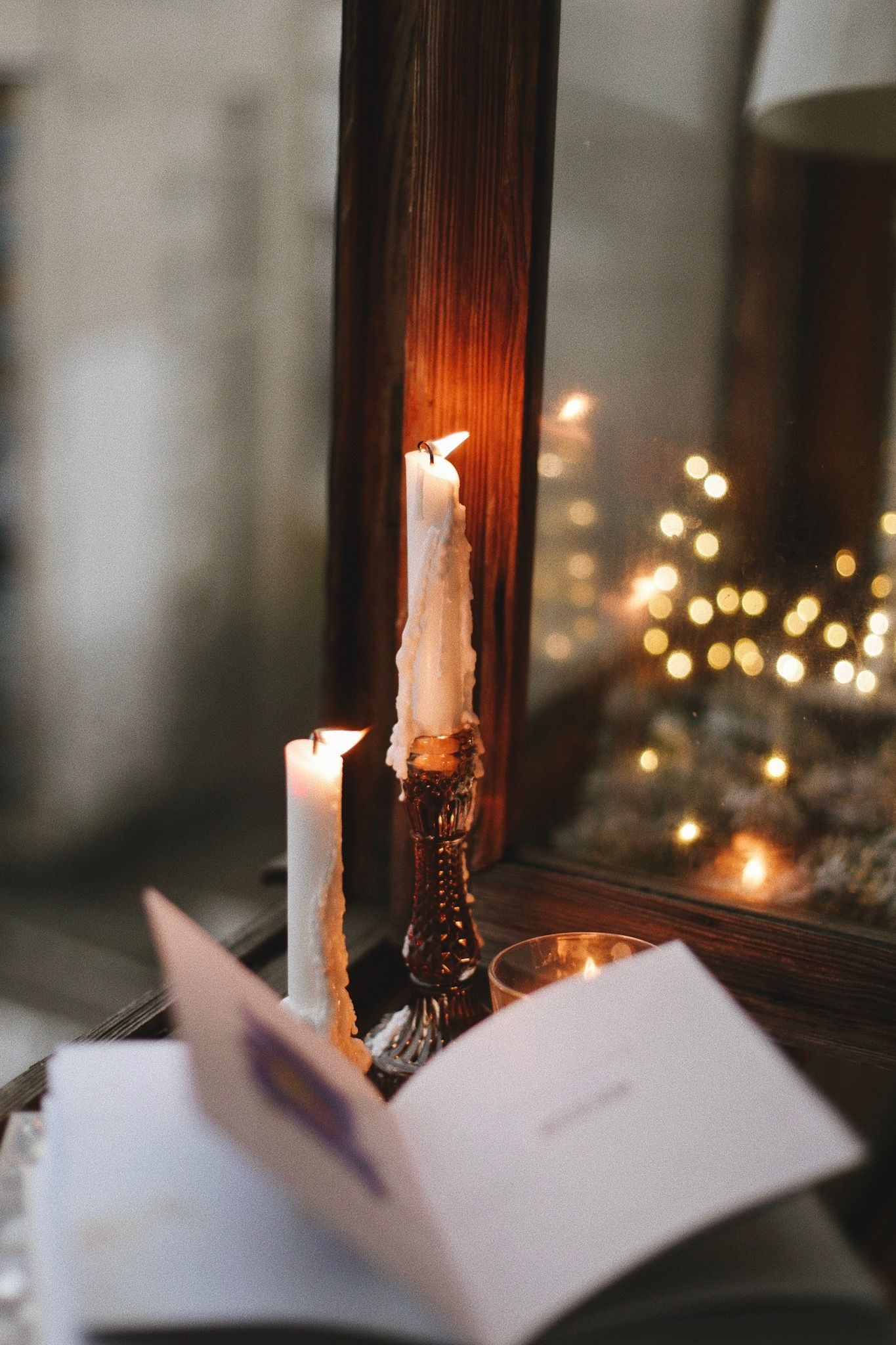 Winter Hygge Candles Candle Aesthetic Christmas Reading Winter Candle
