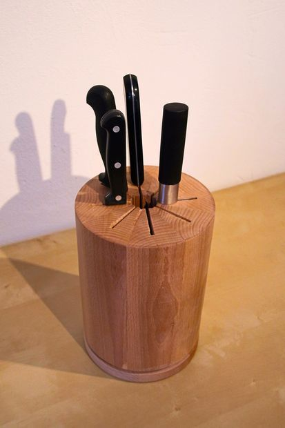 Rotating Knife Block Kitchen Knife Storage Knife Block Diy
