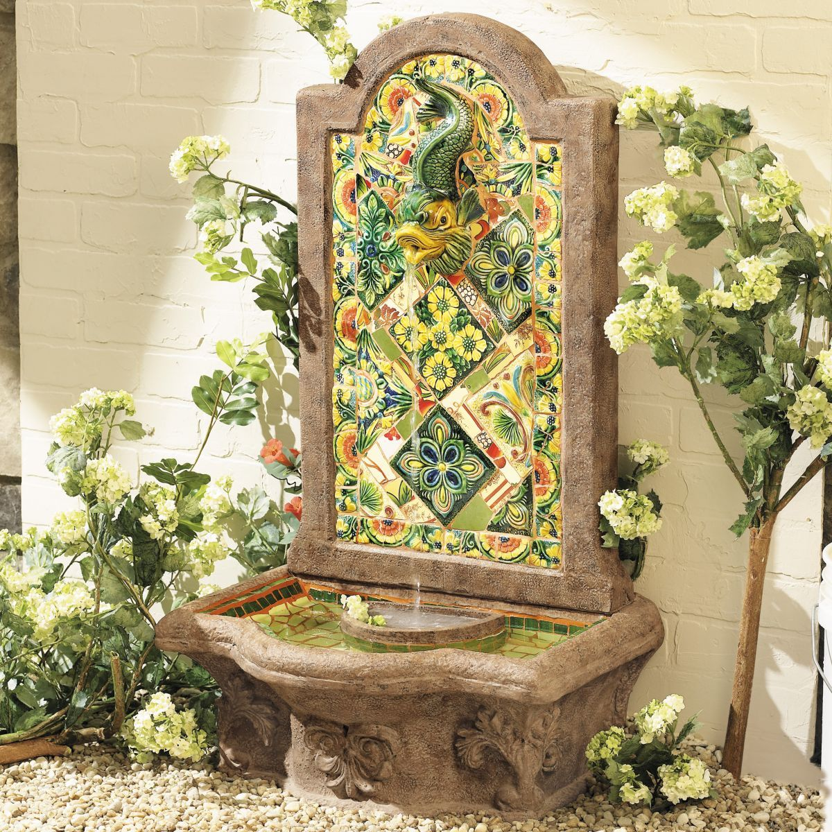 Chianna Fountain | Tampa home | Pinterest | Outdoor cushions ...