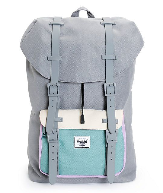 240b870b797 This large size mountaineering inspired backpack in a colorblock pattern is  built with a durable design and ample storage space that can keep up with  all ...