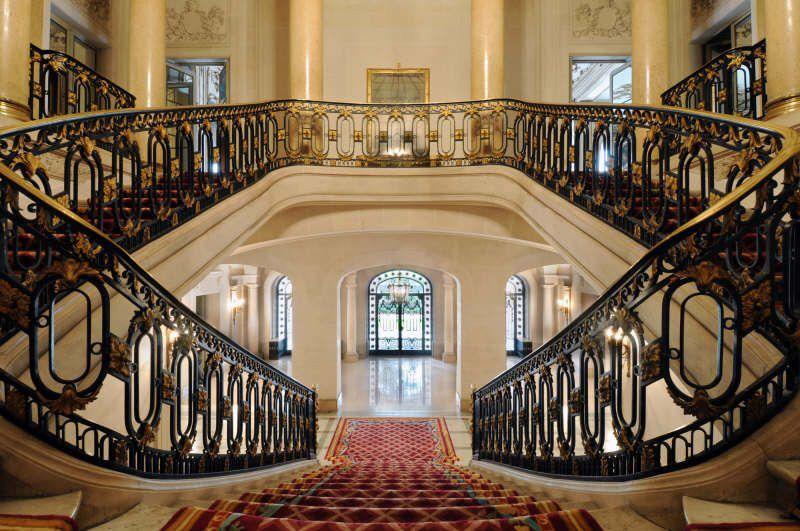 Rothschild Mansion In Paris Google Search Stairs