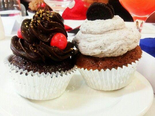 Jaffa cupcake cookies and cream cupcake yummy dessert