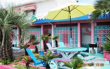 Caribbe Inn Award Winning Motel In Atlantic Beach Nc The Most Unique Accommodations