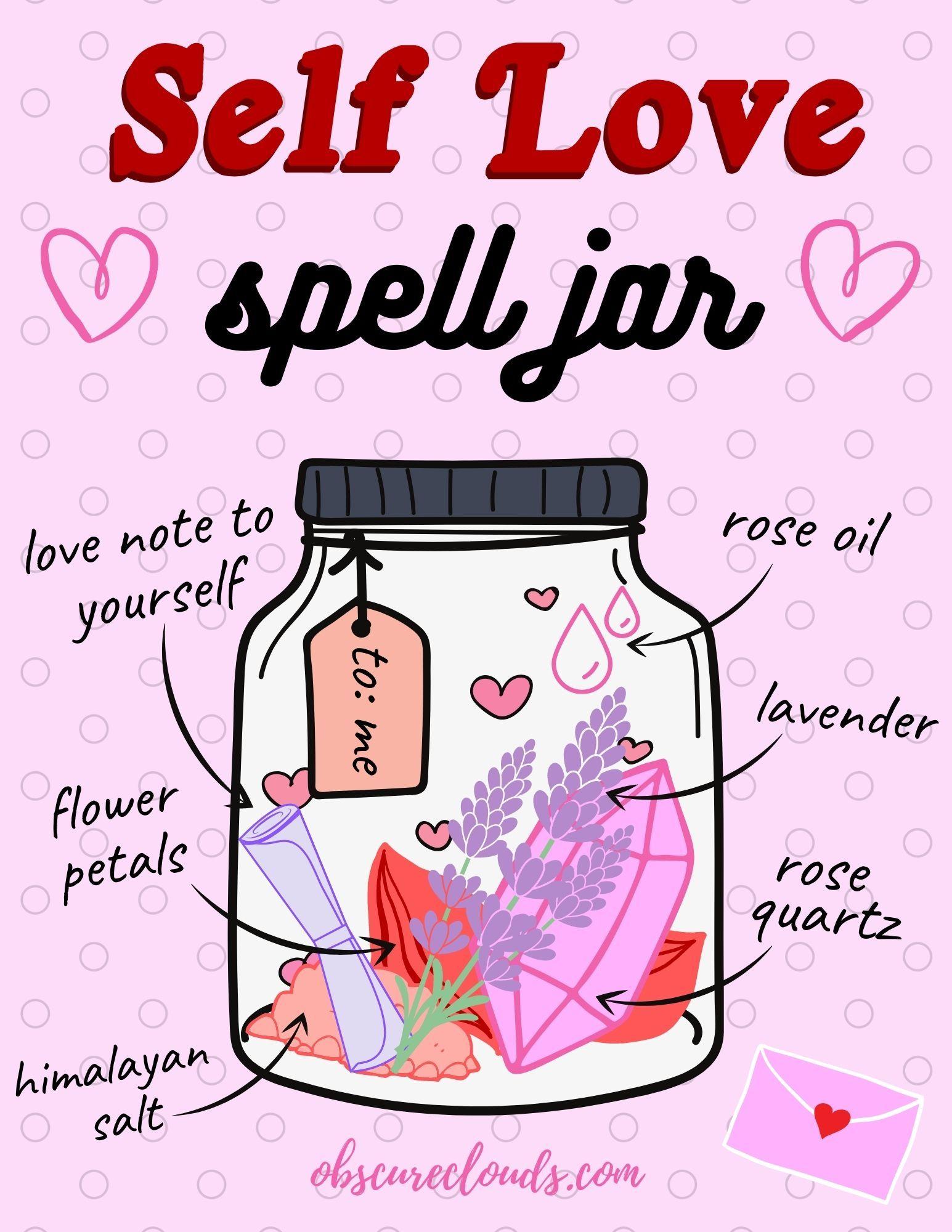 Self-Love Spell Jar!
