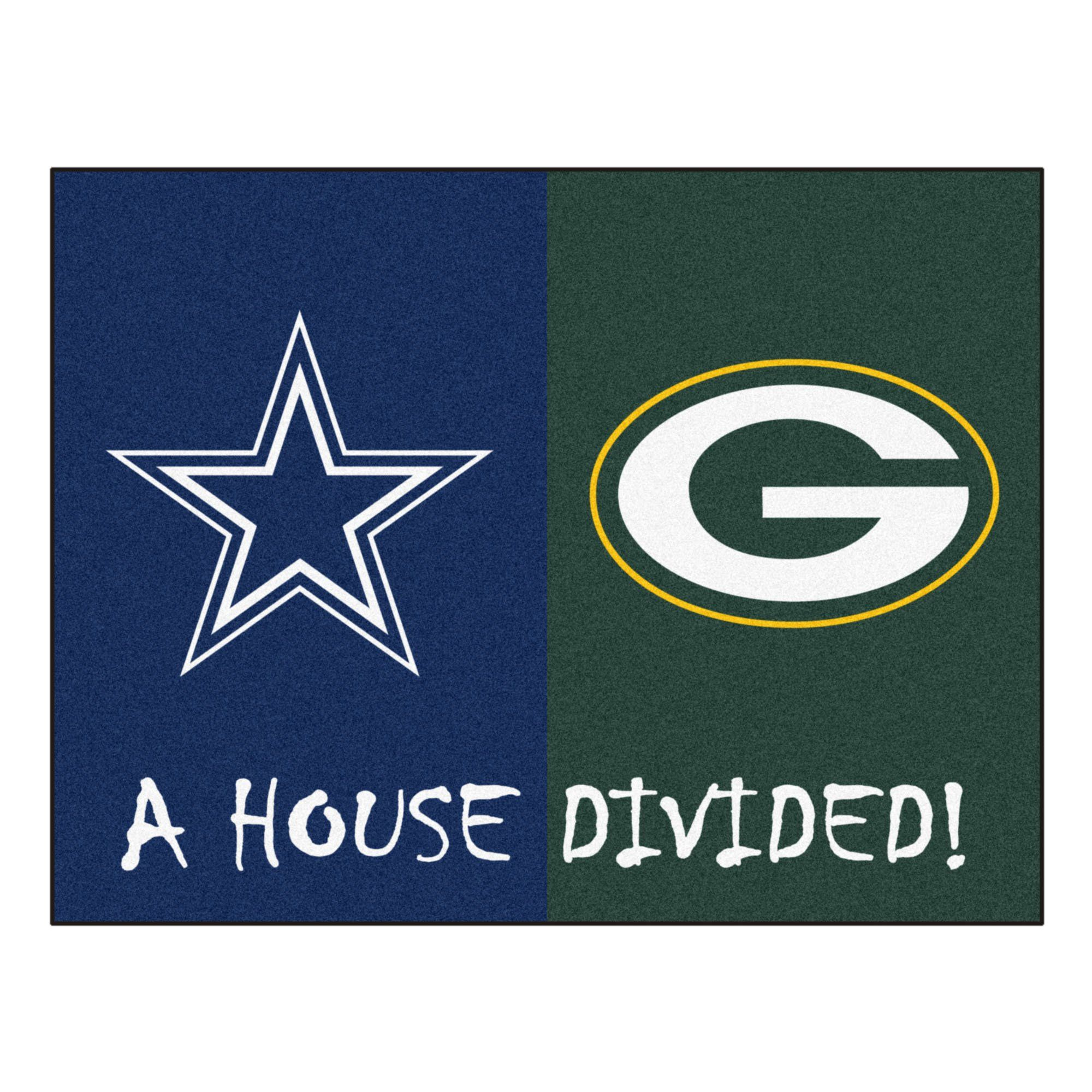 Green Bay Packers Custom Nfl Flag Banner 3x5 Ft 90x150cm Free Logo Design Packers Cowboys House Divided Bears Packers