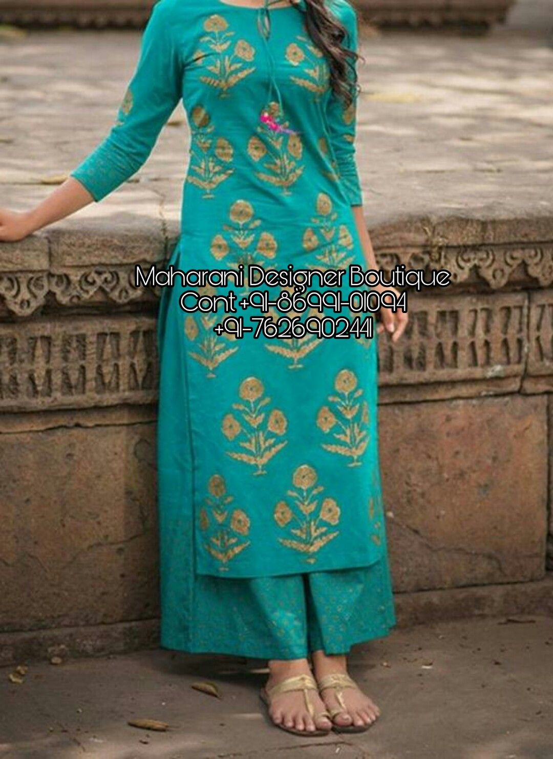 6ee9b94b6e 'Buy Kurta Palazzo Salwar Suits & Dresses at India's Best Online Shopping  Store. Check party wear palazzo suits 👉 CALL US : + 91 - 86991- 01094 or  Whatsapp ...