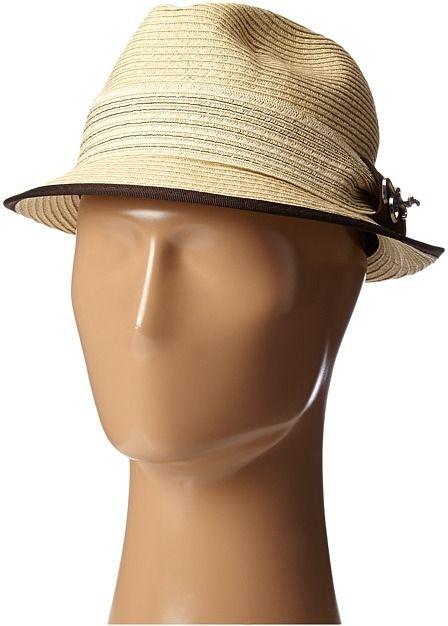 a4954e5621f5e Hats For Men · Carlos by Carlos Santana Paperbraid Fedora on shopstyle.com  Carlos Santana