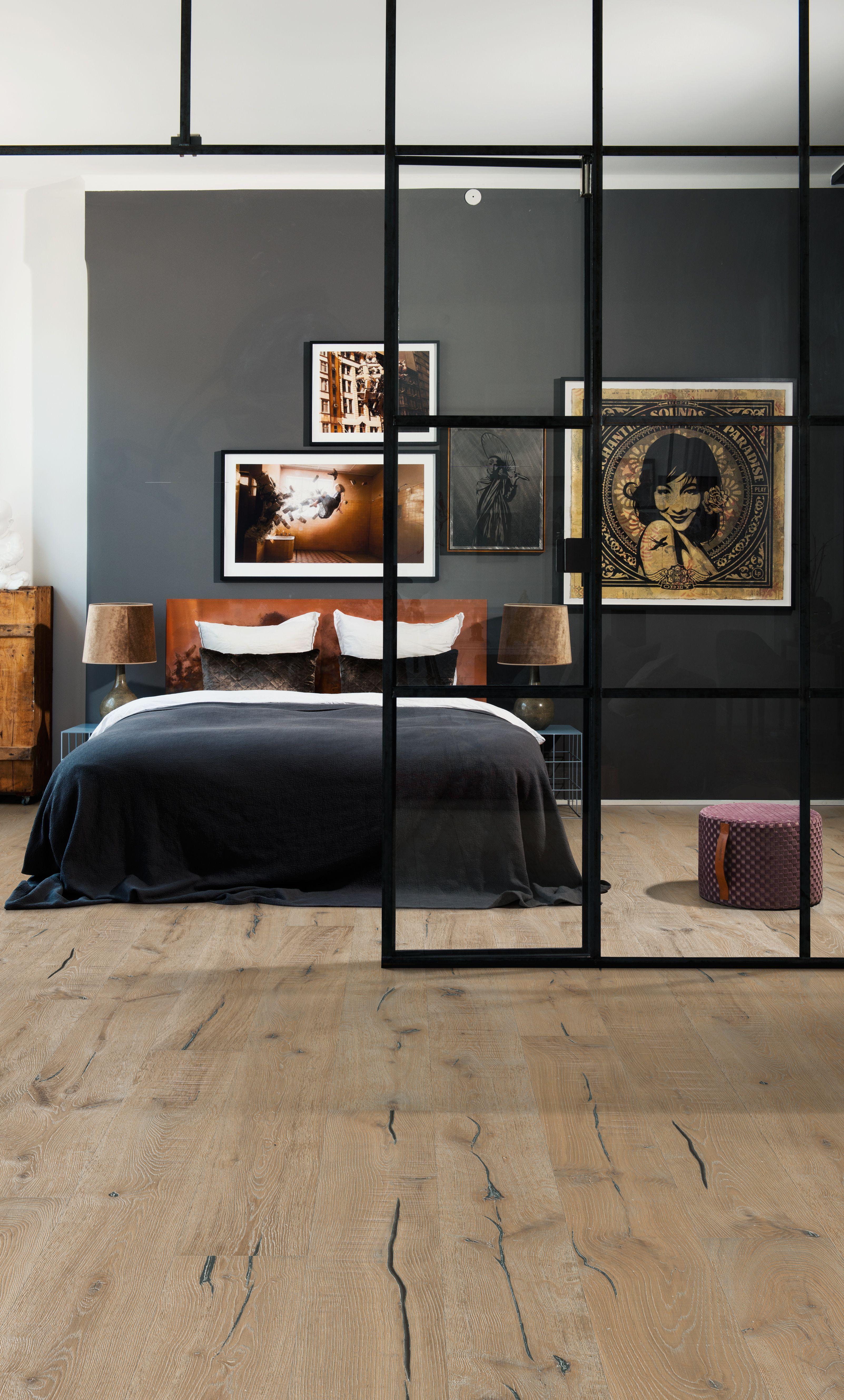 Schlafzimmer mit Eiche Kinda aus der Smaland Collection