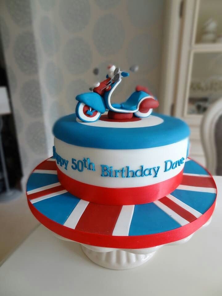 Scooter cake! I have an uncle that this would b perfect for!