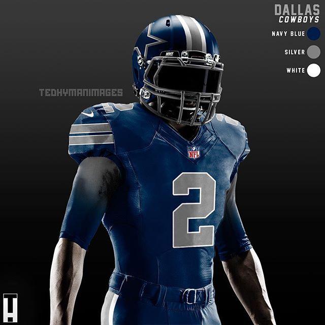 sneakers for cheap d8352 1ef79 Cowboys #ColorRush uniform concept. #DallasCowboys #Dallas ...