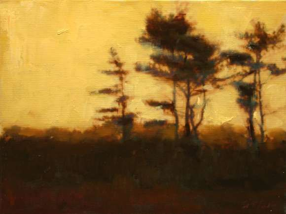 Scott Addis Along Mood Lines Original Oil Painting Landscape Paintings Art Tree Art
