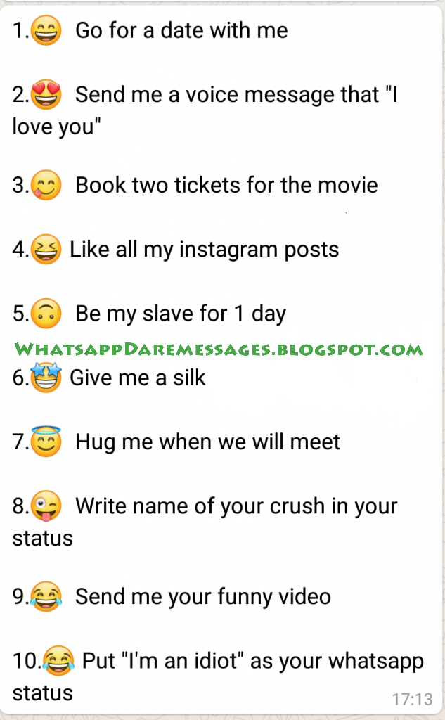 Dare Game Questions Whatsapp : questions, whatsapp, Funny, Whatsapp, Games, Crushes, Truth, Games,
