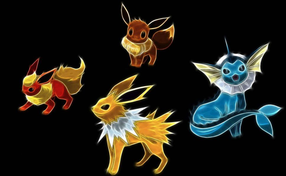 Jolteon Hd Wallpaper Eevee Wallpaper Pokemon Pokemon Umbreon