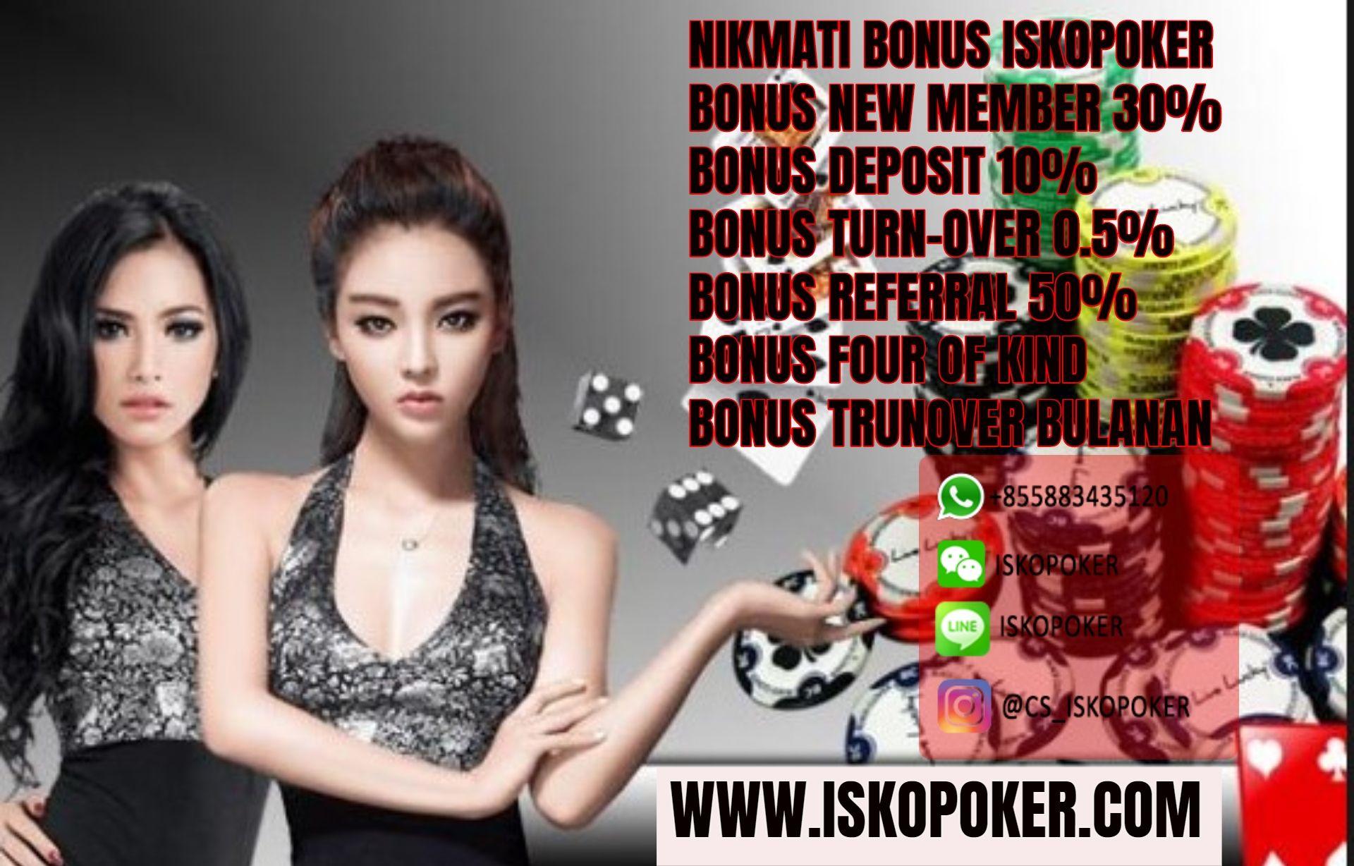Freebet Poker Online Bandar Referrals Bonus