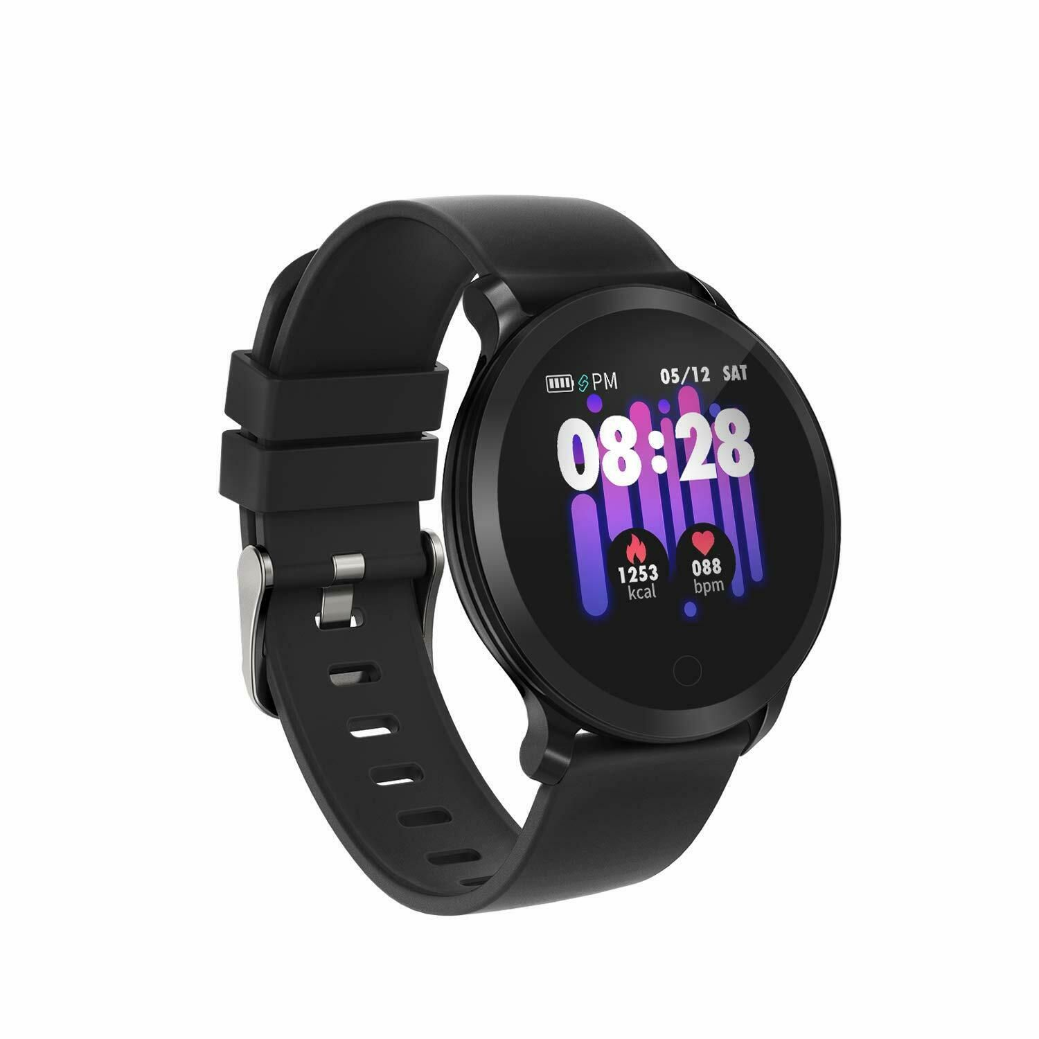 Smart Watch IP68 Waterproof Fitness Tracker Watch Color Screen with Heart Rate - Fitness Watch - Ide...