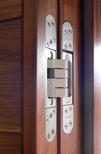 Concealed flush door hinges playroom doors exterior doors contemporary front doors for Hidden hinges for exterior doors