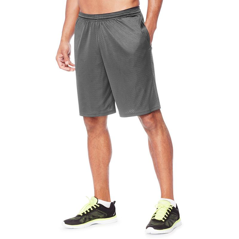 ca02cd24acf7 Hanes Mesh Workout Shorts