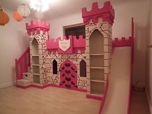 Princess Castle Bed Ebay Princess Bunk Beds Castle Bed Bunk