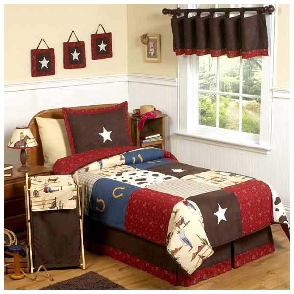 Wild West Themed Cowboy Bedroom Design - Decorating a kids ...
