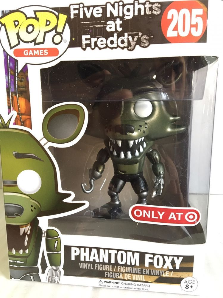 Funko Pop Five Nights At Freddy S Fnaf Phantom Foxy 205