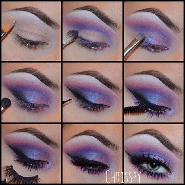 13 Amazing Step by Step Eye Makeup Tutorials to Try | Lace ...