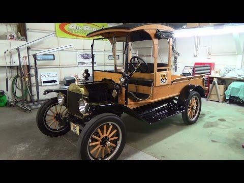 1916 Model T Pickup Youtube Ford Models Model T Old Classic Cars