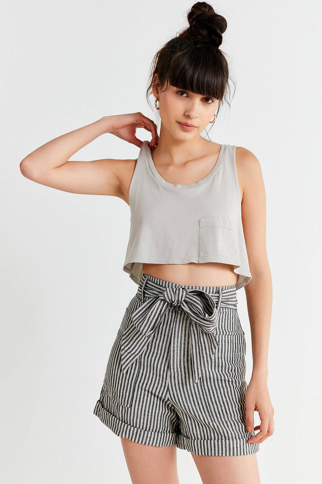 119dee47f3927a Project Social T Super Cropped Tank Top