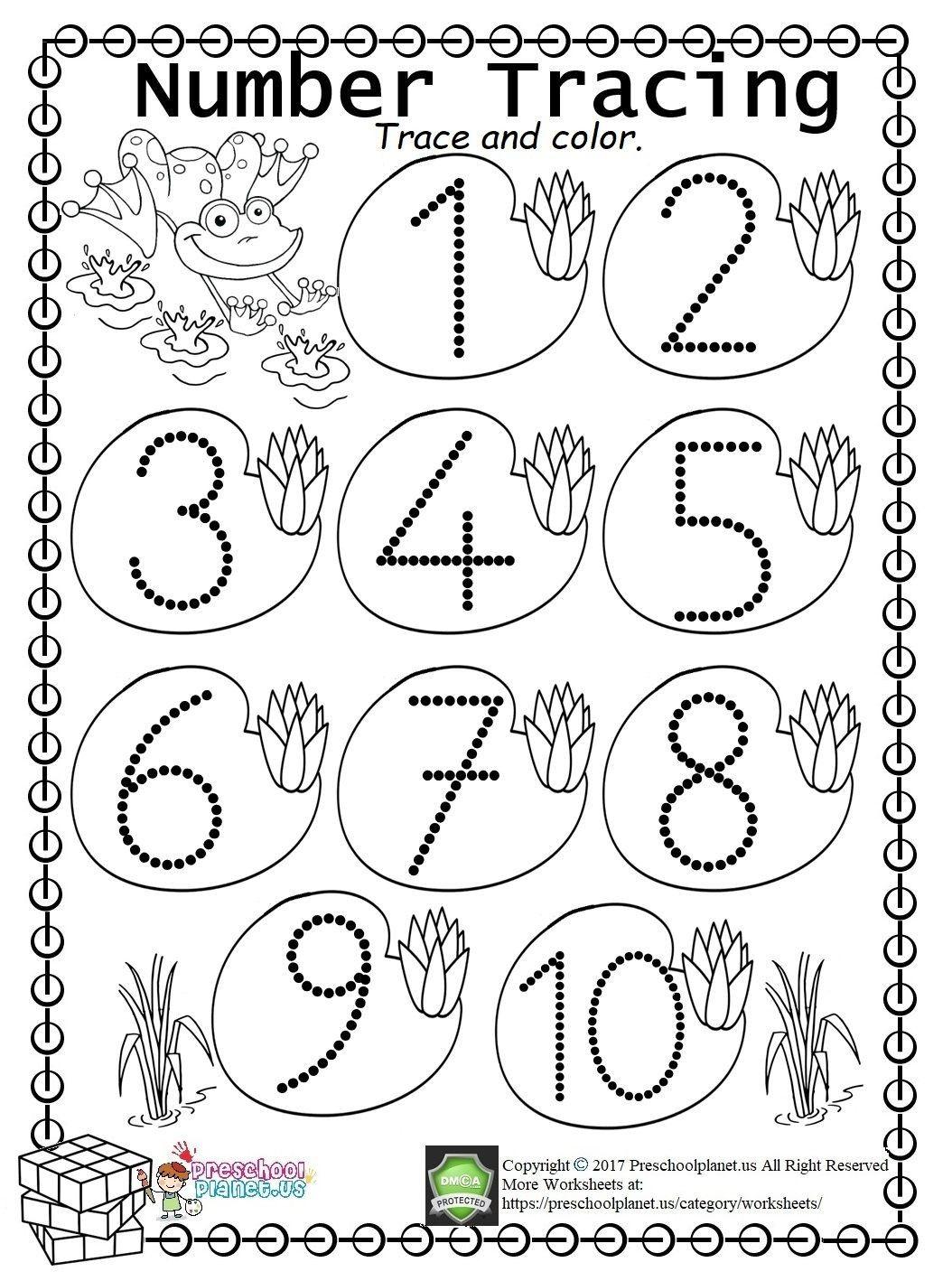 3 Worksheet Free Preschool Kindergarten Worksheets Numbers Numbers 1 10 Three 3 Easy Number T Number Tracing Kindergarten Worksheets Numbers Kindergarten